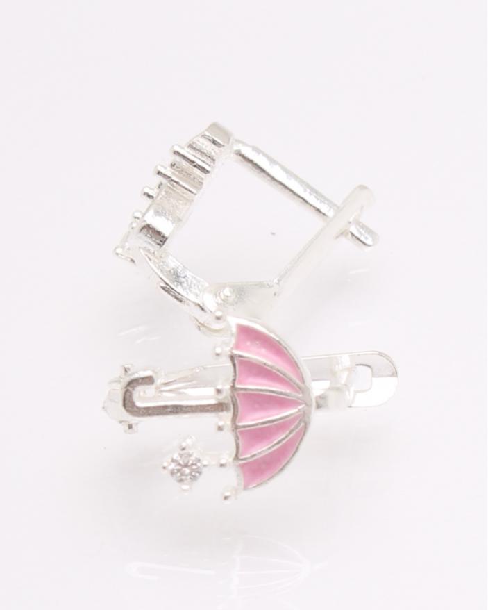 Cercei argint copii umbreluta cod 2-30663, gr1.6