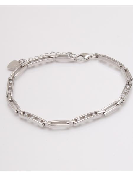 Bratara argint 3 pietre albe cod 5-23039, gr7