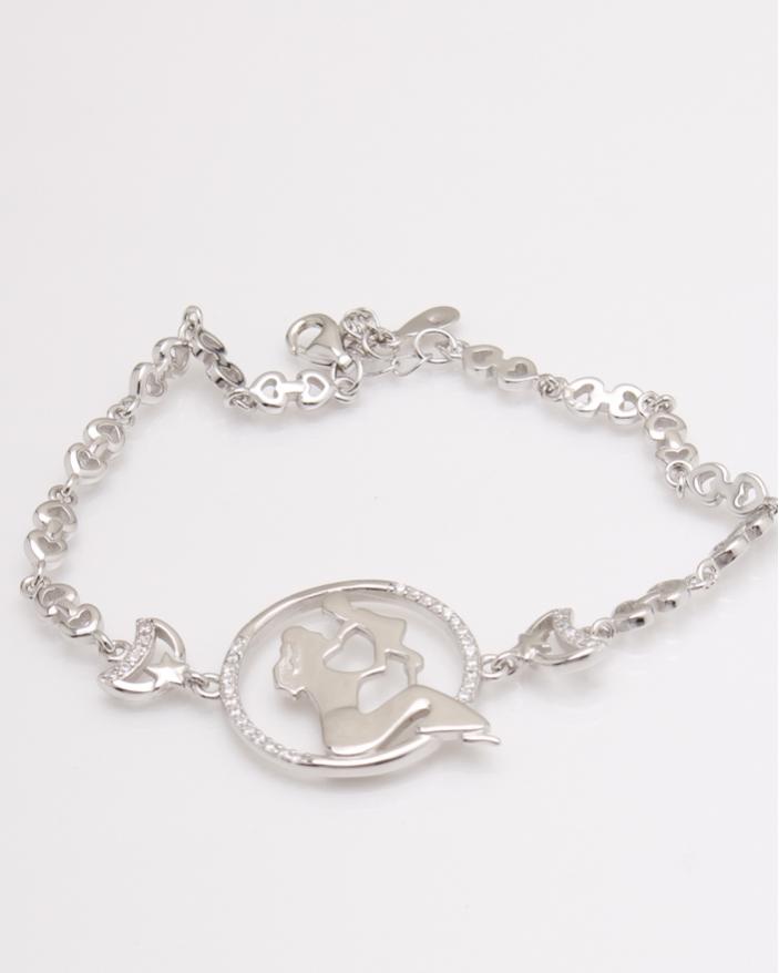 Bratara argint sirena si copil cod 5-23881, gr6.7