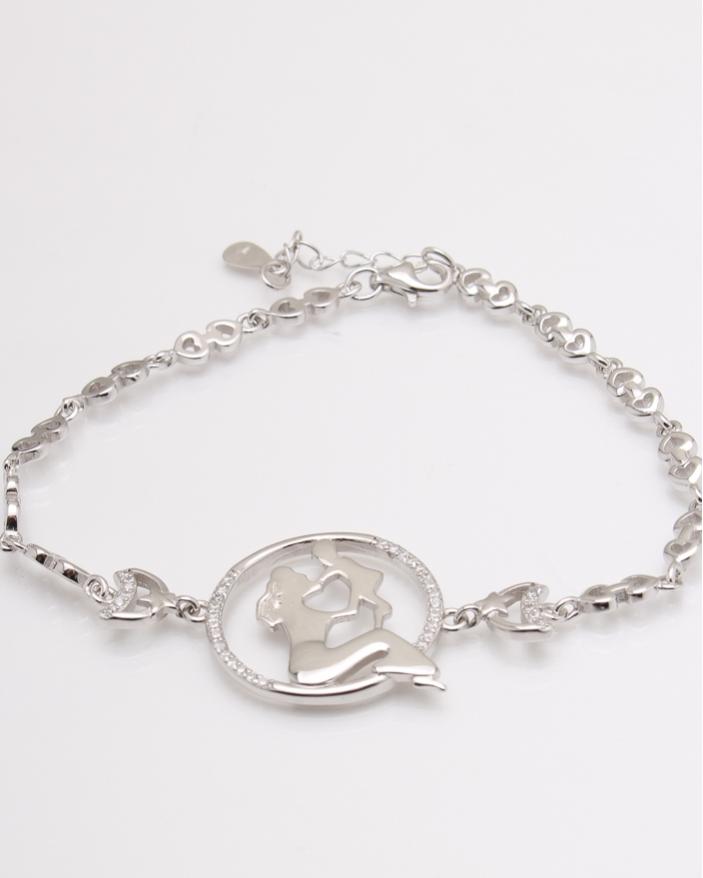 Bratara argint sirena si copil cod 5-24790, gr6.8