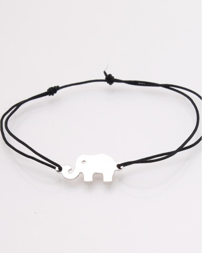 Bratara argint elefant cod 5-27668, gr0.9