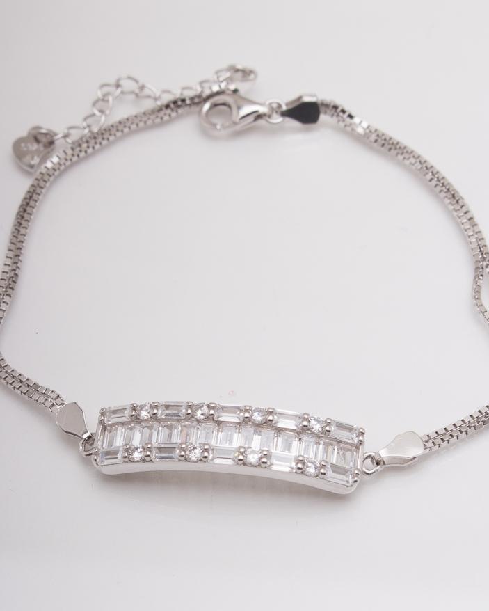 Bratara argint cod 5-3517, gr5.7