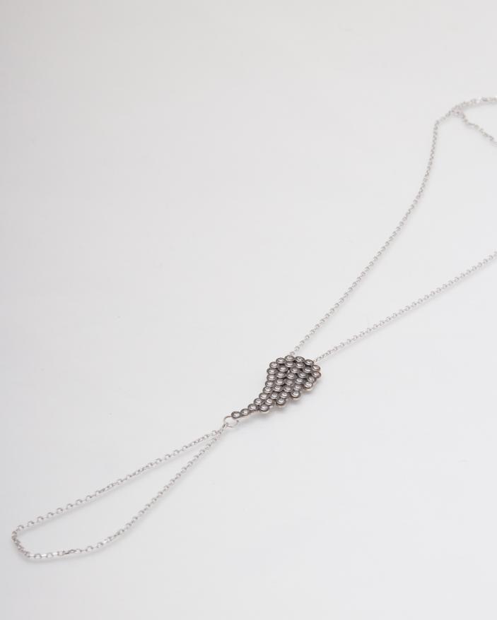 Bratara argint cod 5-6327, gr2.4