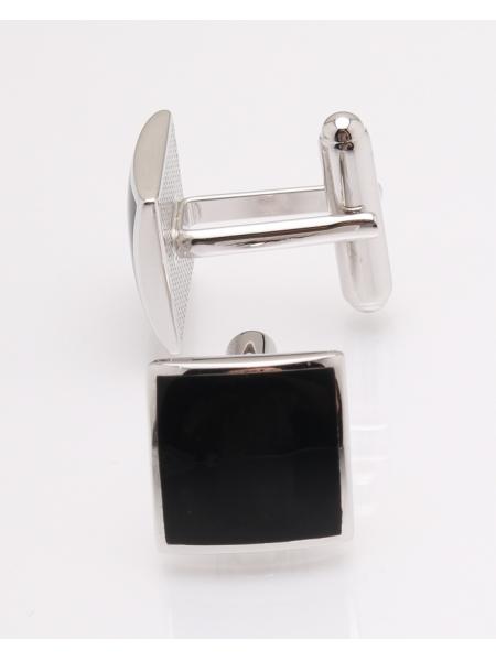 Butoni argint onix cod 9-27493, gr9.1