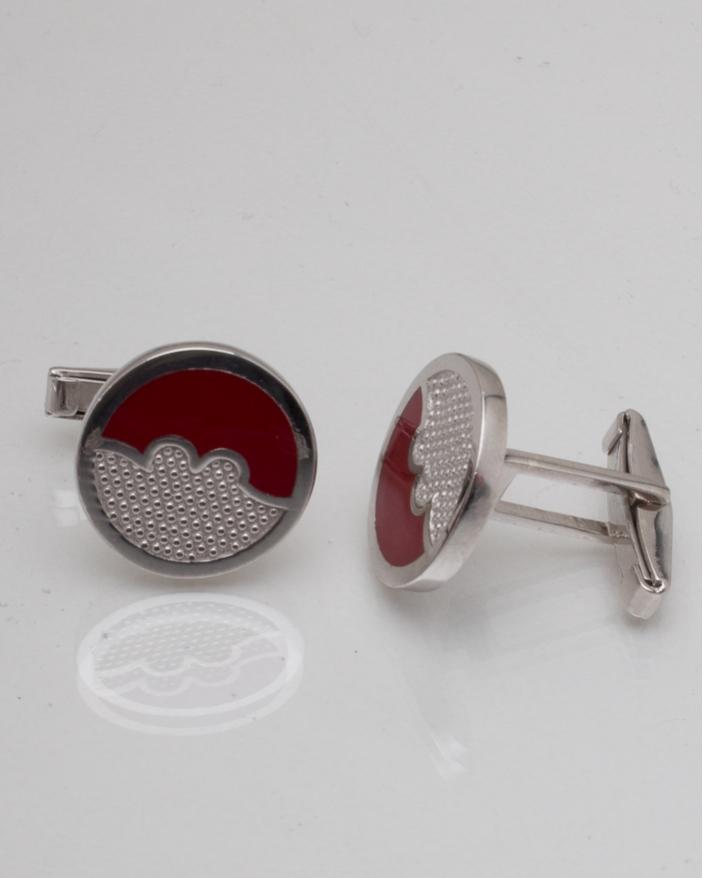 Butoni argint cod 9-8651, gr10.5
