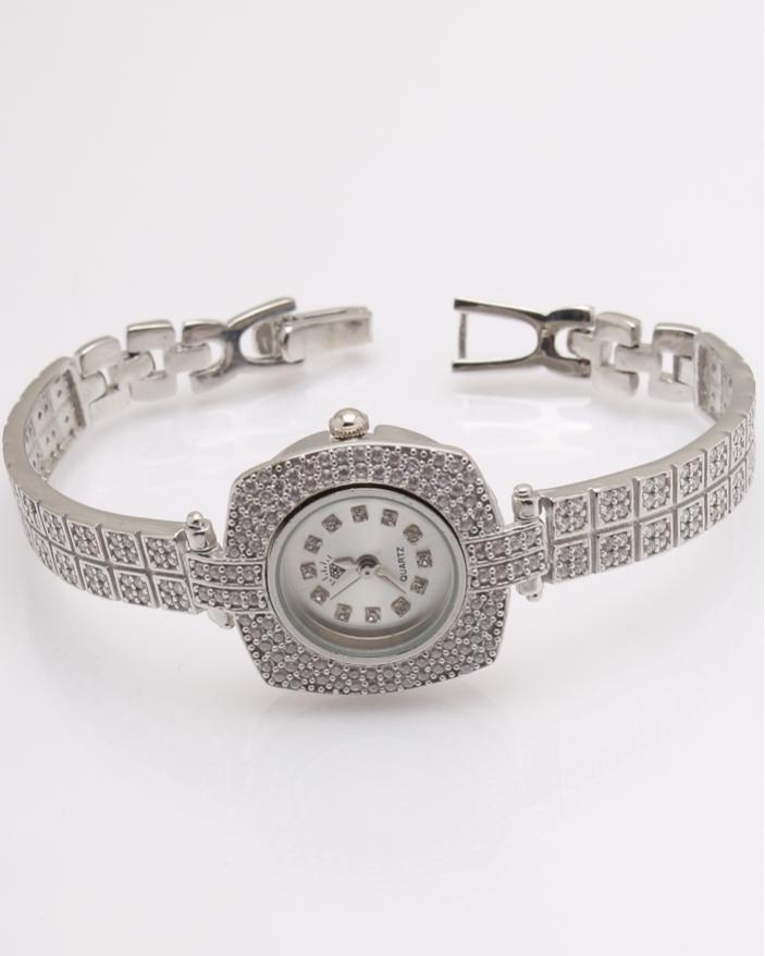 Ceas argint si cubic zirconia cod 7-32072, gr30