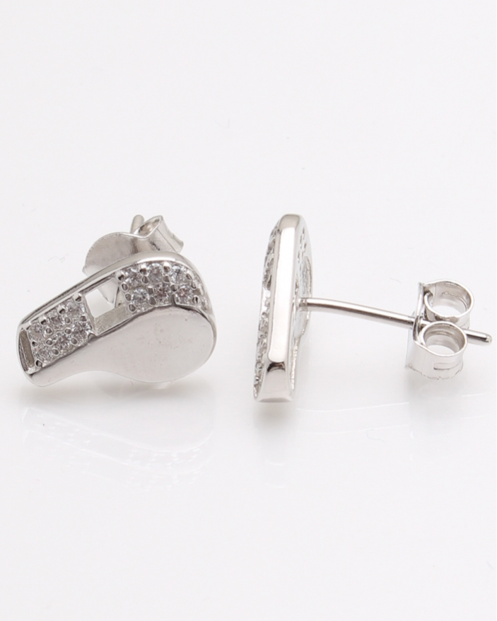 Cercei argint fluier cod 2-24049, gr2.4