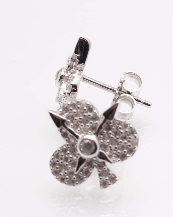 Cercei argint ceas trefla cod 2-25591, gr3.1