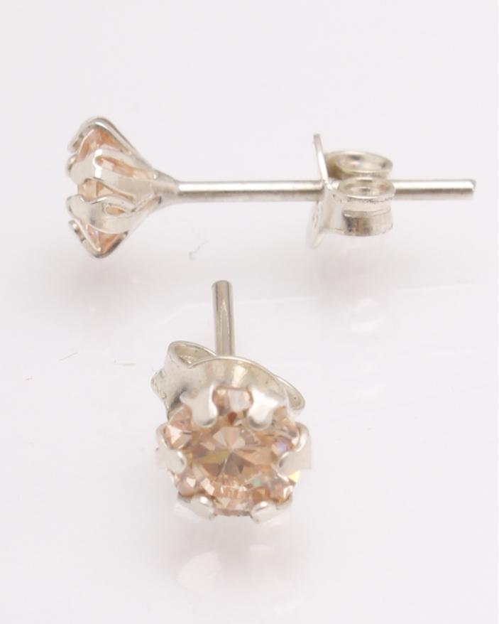Cercei argint si cristale cod 2-27097, gr0.9
