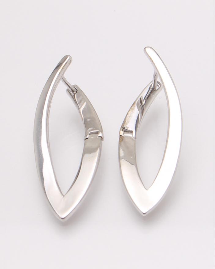 Cercei argint rodiat cod 2-31504, gr3.9