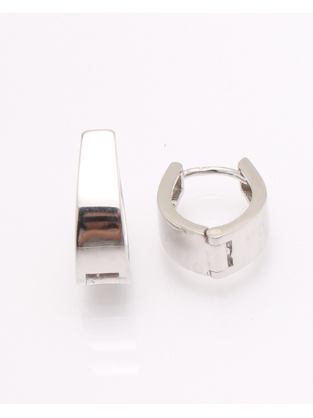 Cercei argint rodiat cod 2-31507, gr3.3