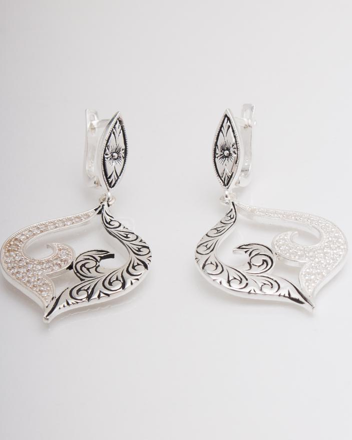 Cercei argint cod 2-4411, gr11.6