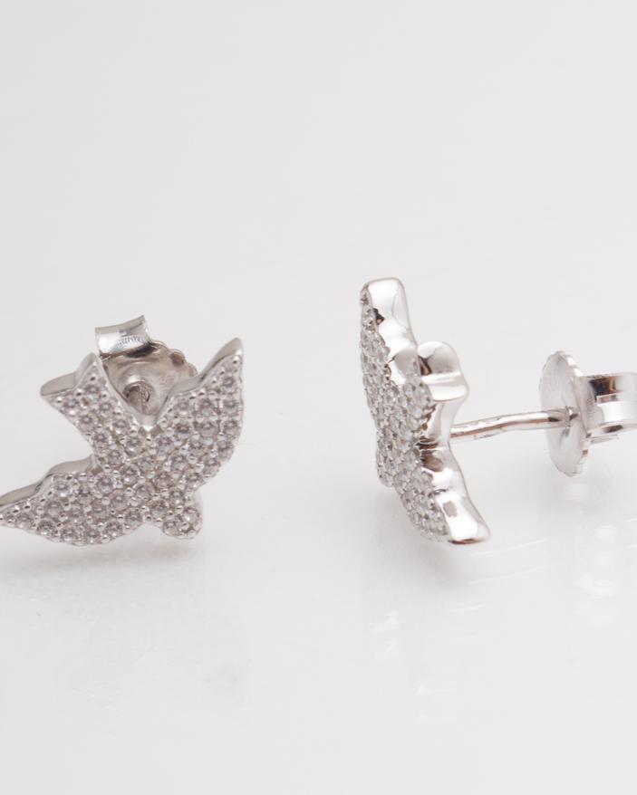 Cercei argint cod 2-4424, gr3.8
