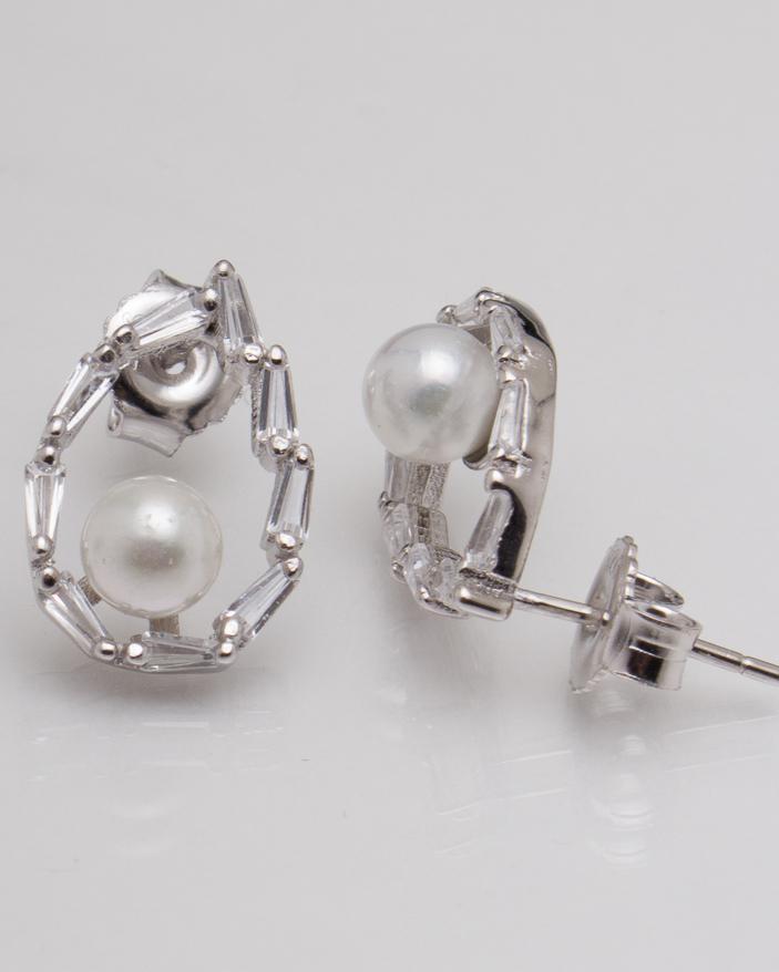 Cercei argint cod 2-5460, gr2.6