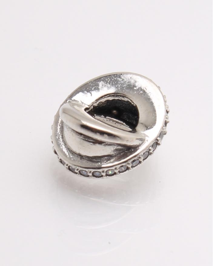 Pandantiv argint pietricele albe cod 6-21235. gr1.7