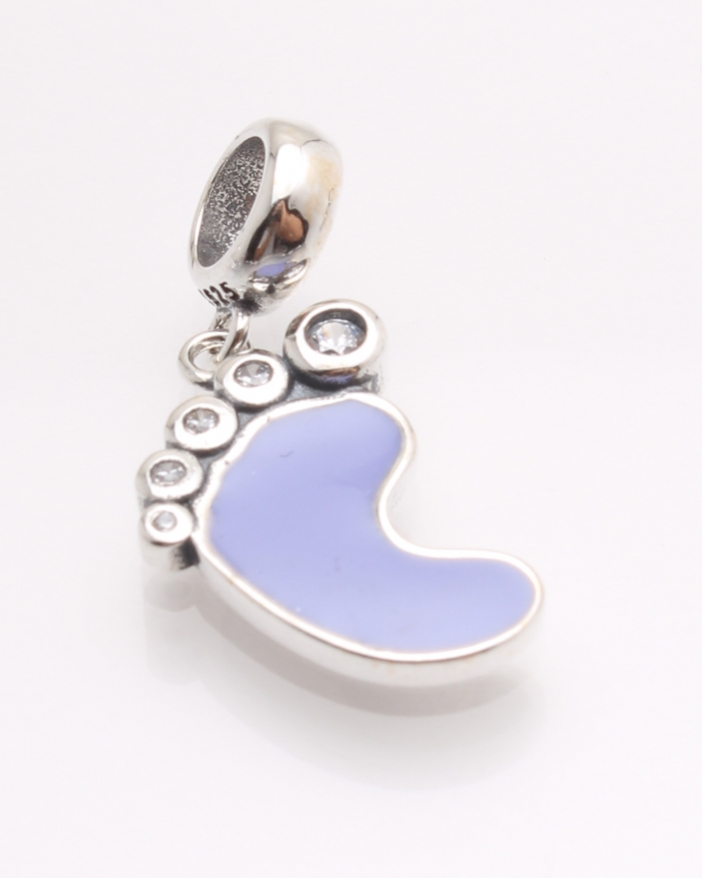 Pandantiv argint talpa lila cod 6-21399. gr1.9