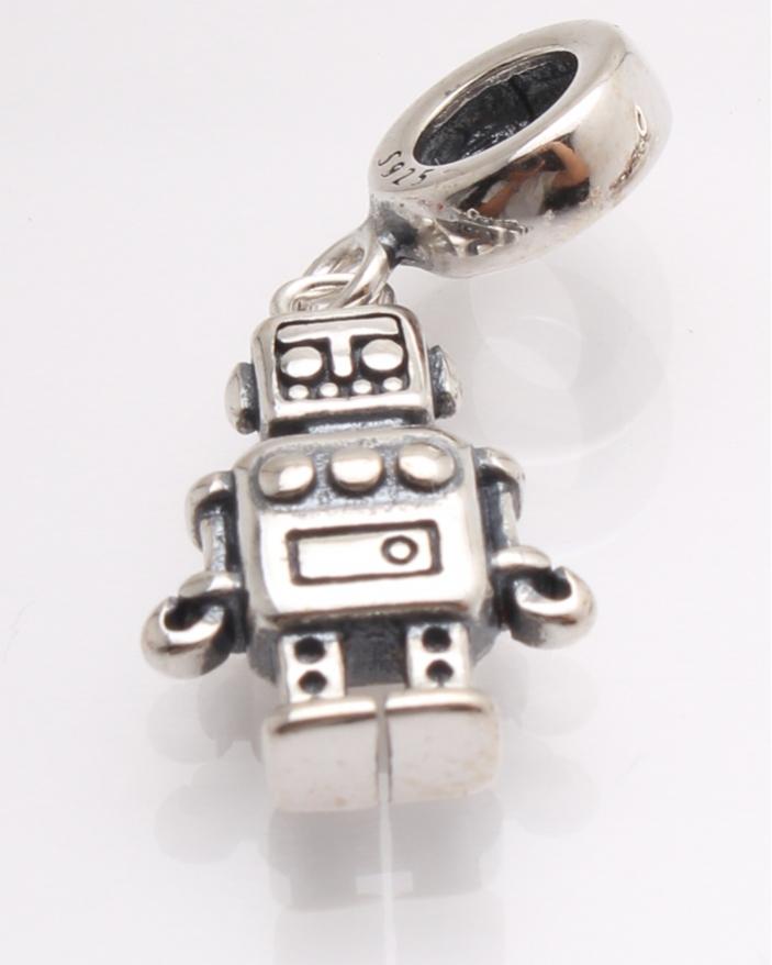 Pandantiv argint robot cod 6-21439. gr2.7