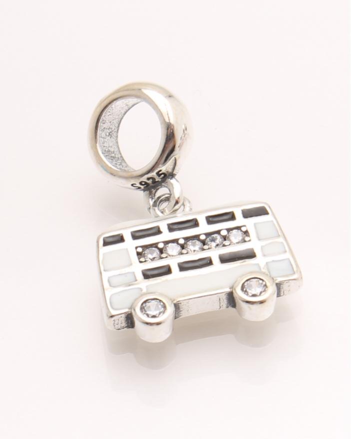 Pandantiv argint autobuz cod 6-21462. gr2