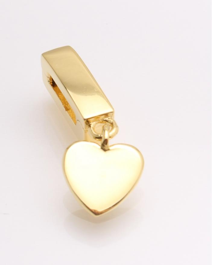 Pandantiv argint galben cu inima cod 6-21723. gr1.8
