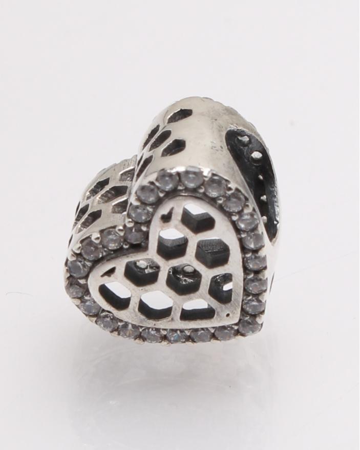 Pandantiv argint inima cod 6-27749. gr1.5