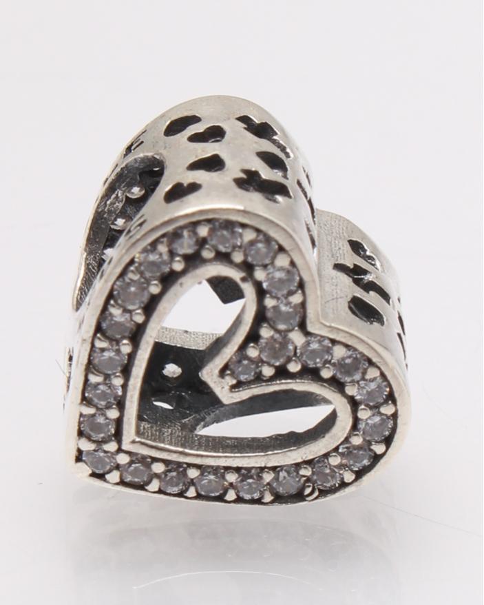 Pandantiv argint inima cod 6-27775. gr2.2