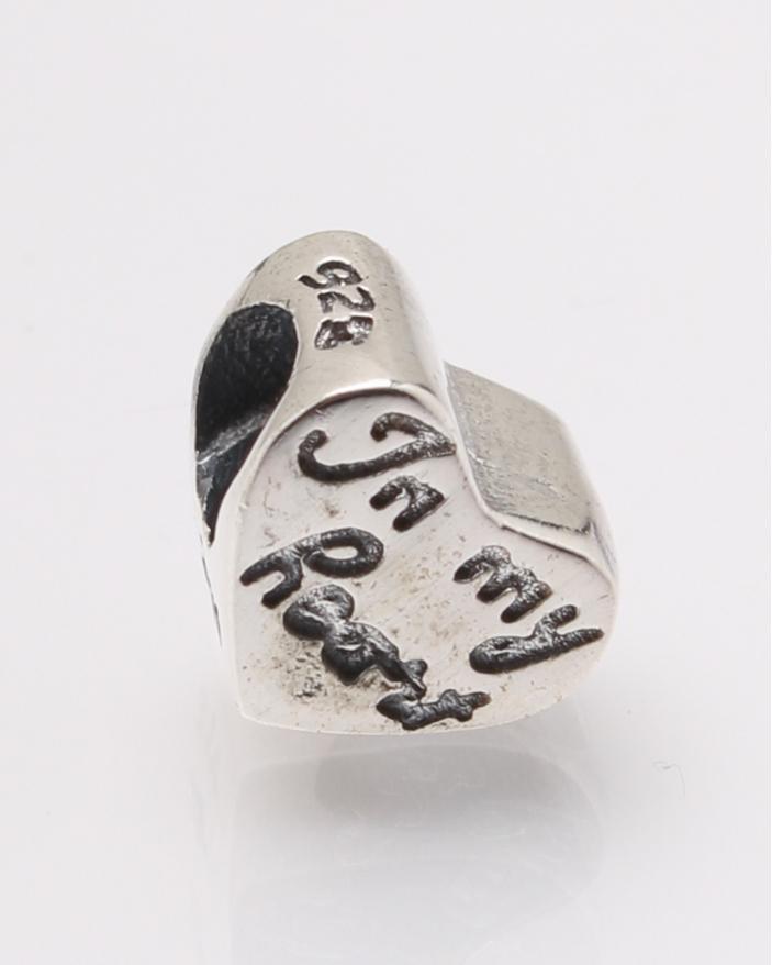 Pandantiv argint inima cod 6-27782. gr2