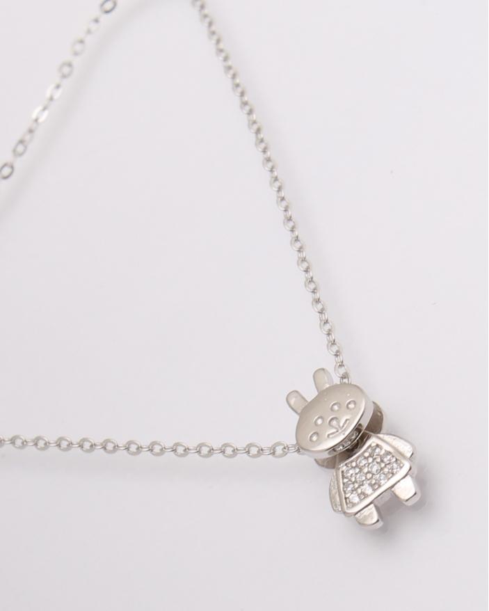 Colier argint cod 4-20593, gr1.8