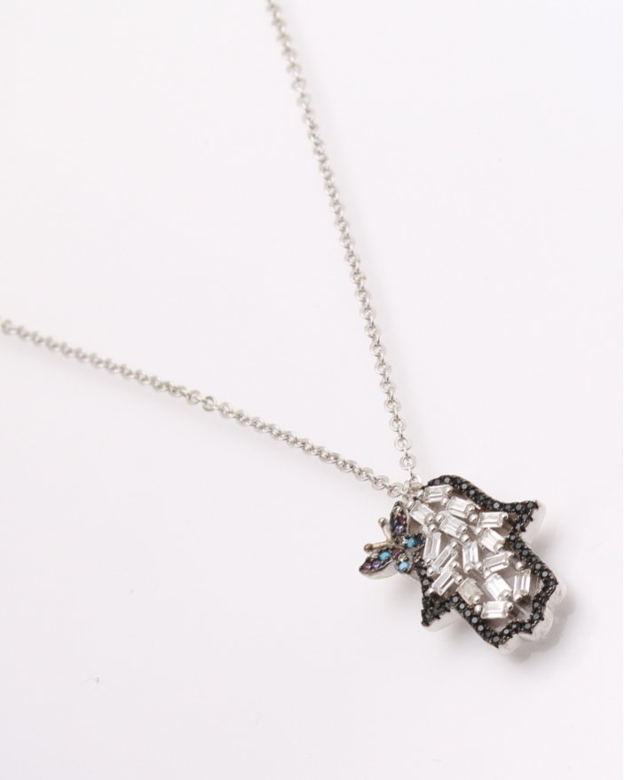 Colier argint manuta cod 4-26812, gr5.3
