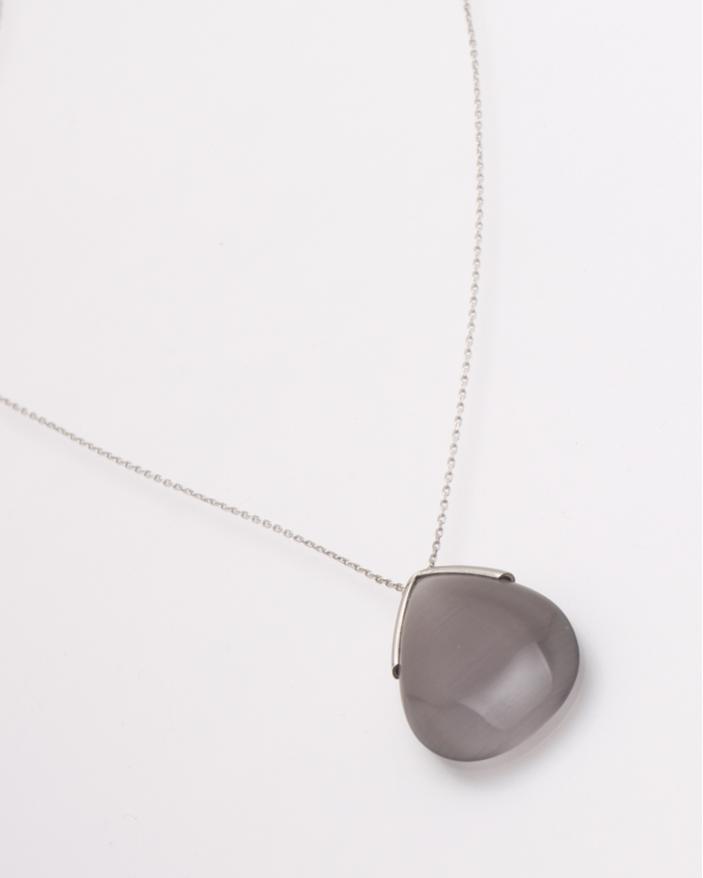 Colier argint agat cod 4-28515, gr3.8