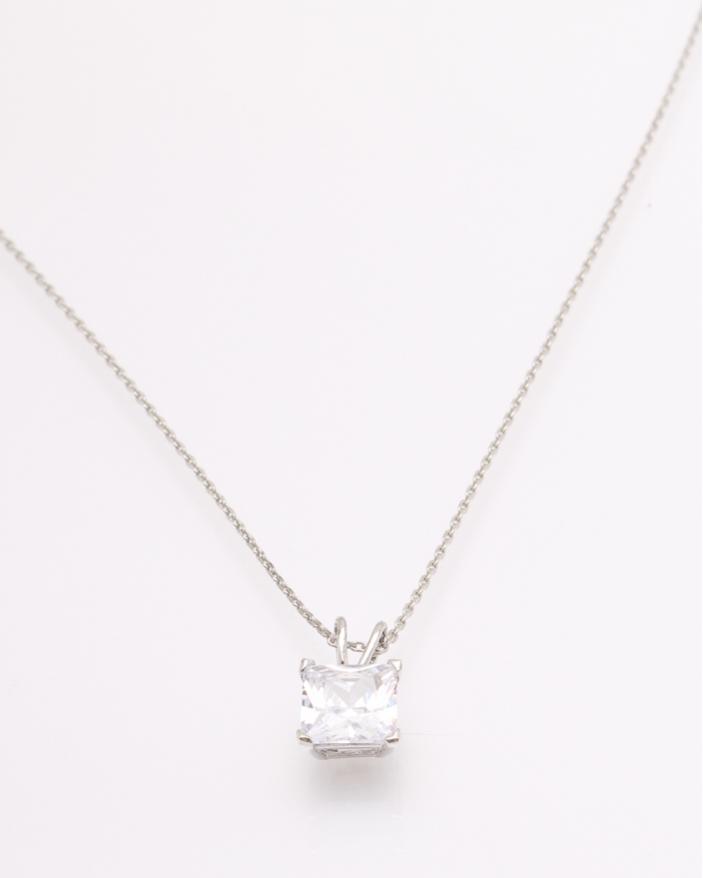 Colier argint cubic zirconia cod 4-32745, gr2
