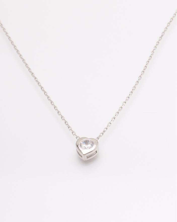Colier argint cubic zirconia cod 4-32747, gr1.4