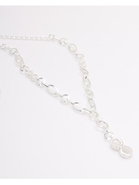 Colier argint si infinit cod 4-33869, gr7.6