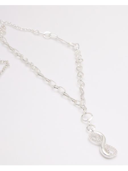 Colier argint si infinit cod 4-33870, gr8.7