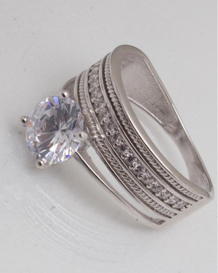 Inel argint cod 1-10475, gr3.8