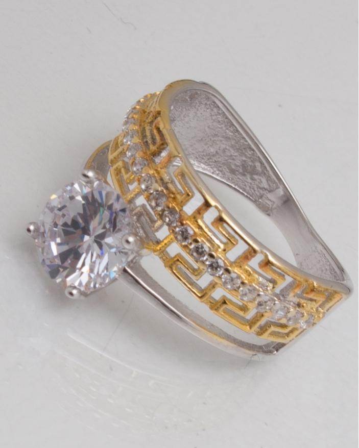 Inel argint cod 1-10515, gr3.5