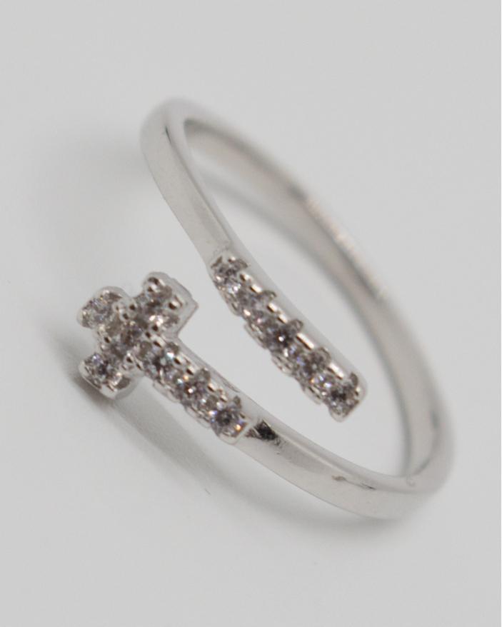 Inel argint cod 1-10717, gr1.2