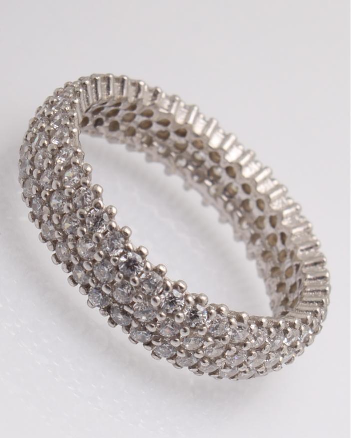 Inel argint cod 1-15555, gr3.8