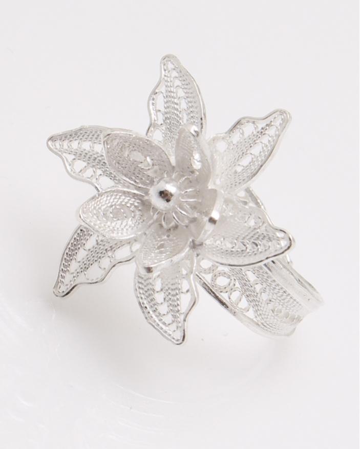 Inel argint filigran floare cod 1-23080, gr3.2