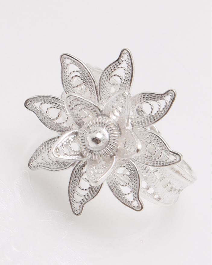Inel argint filigran floare cod 1-23081, gr2.9