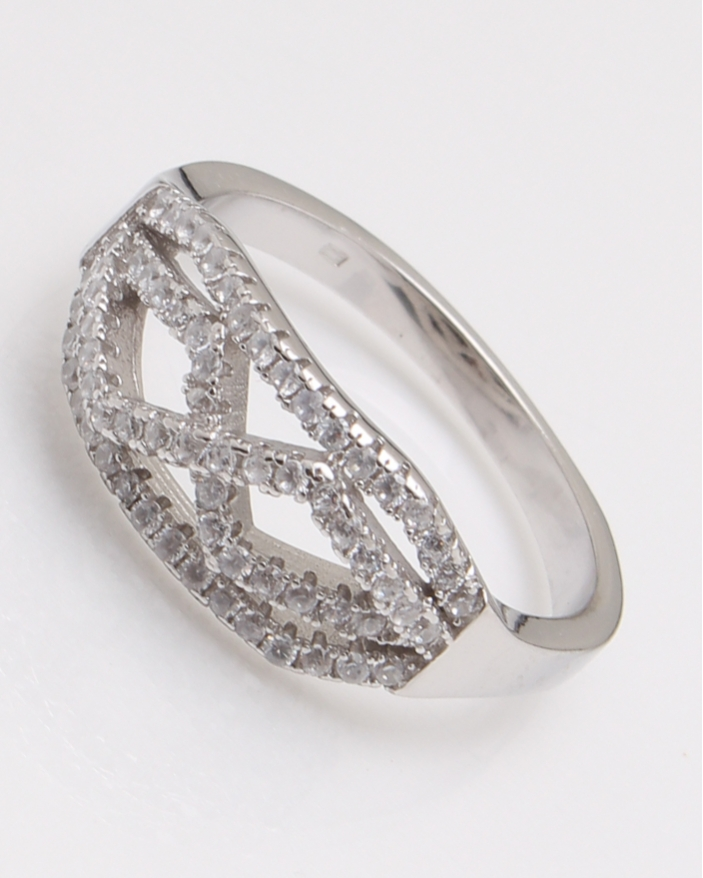 Inel argint infinit in unghiuri cod 1-23099, gr3.8