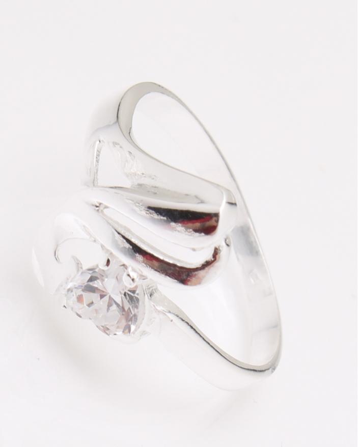 Inel argint piatra alba cod 1-24420, gr2.5