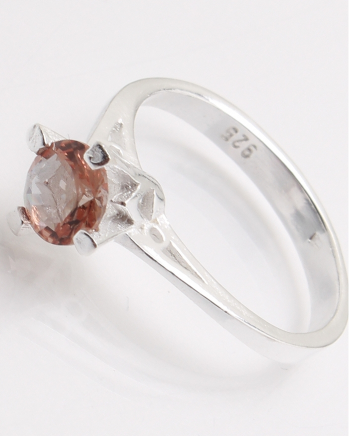 Inel argint piatra cubic zirconia cod 1-24431, gr2