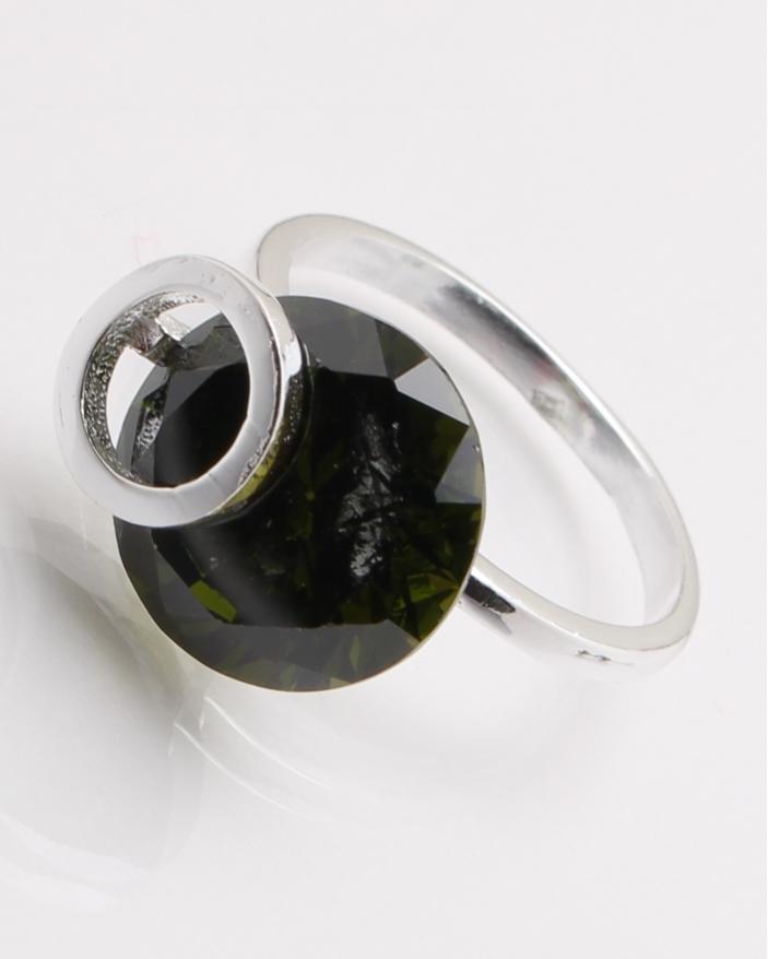 Inel argint piatra neagra cod 1-24465, gr4