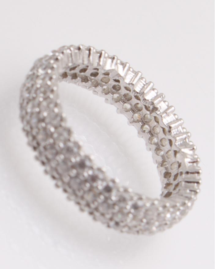 Inel argint cu pietricele cubic zirconia cod 1-25813, gr3.4