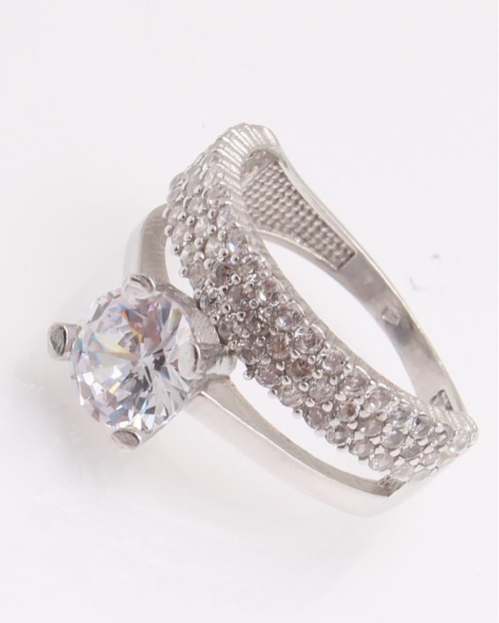 Inel argint de logodna cod 1-26986, gr4.4