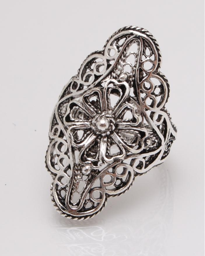 Inel argint filigran cod 1-27369, gr4.9