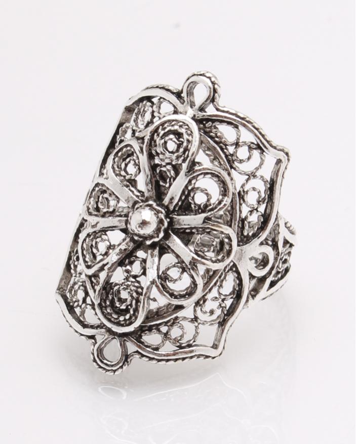 Inel argint filigran cod 1-27371, gr4.3