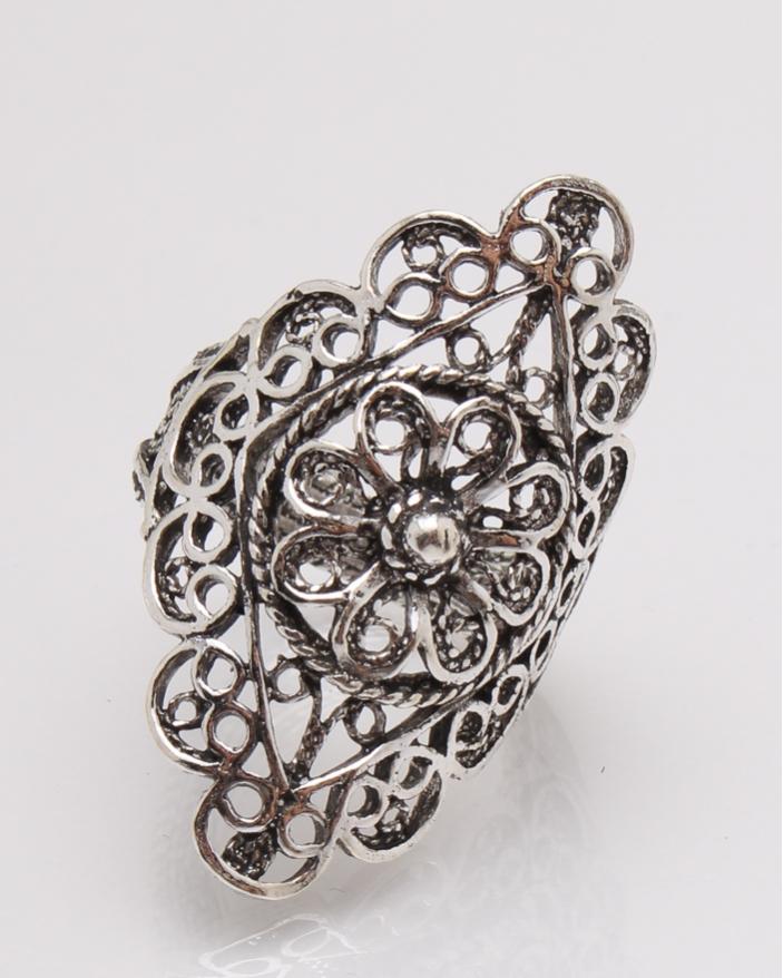 Inel argint filigran cod 1-27373, gr4.9