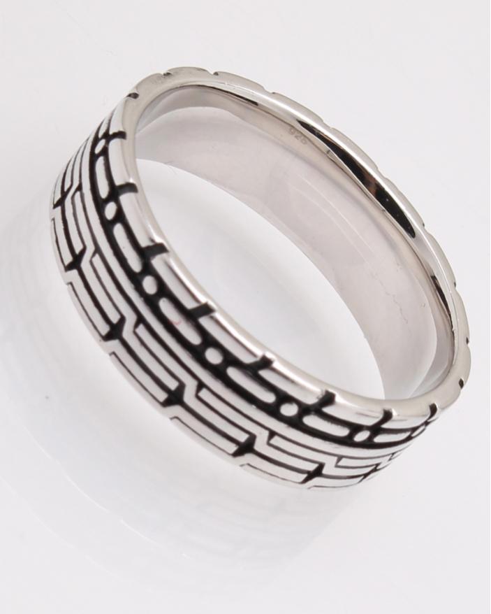 Inel argint cod 1-28750, gr5.5