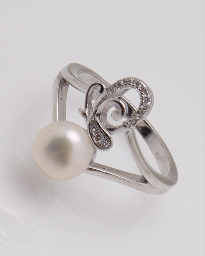 Inel argint cu perla cod 1-28927, gr3